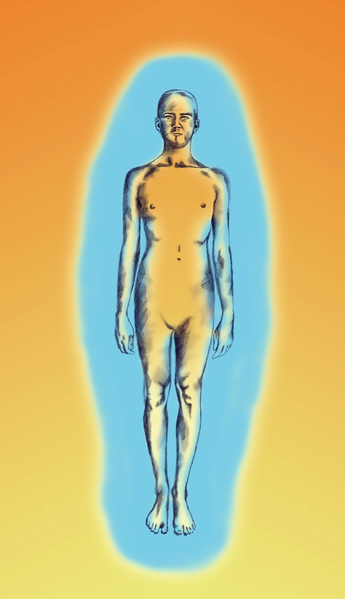 Aura človeka: Dostatok energie