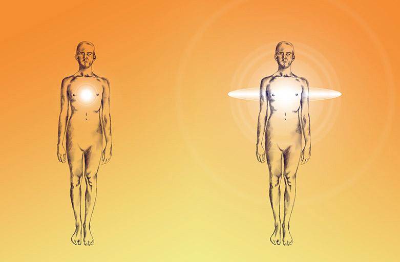 Aura duchovného vývoja
